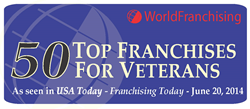 Maui Wowi listed on 50 Top Franchises for Veterans