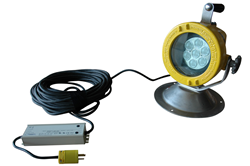 Class 1 Division 1 Portable Explosion Proof LED Light for use within Hazardous Locations