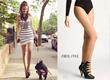Graphic fashion tights