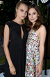 Carla and Keira Knightley attend the 2014 Serpentine Summer Party - London