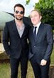 Bradley Cooper and Francois-Henri Pinault attend the 2014 Serpentine Summer Party - London
