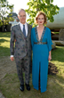 Director Julia Peyton-Jones and Co-Director Hans Ulrich Obrist attend the 2014 Serpentine Summer Party - London