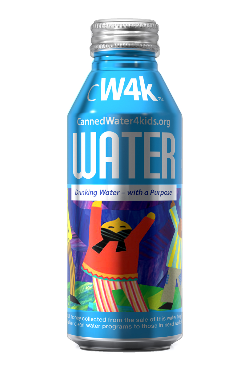 Cannedwater4kids Cw4k Drinking Water Is Now Available In