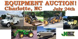 Used Equipment For Sale at Public Auction Charlotte, NC 07/24/14