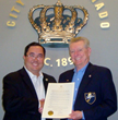 Len Kaine and the Golden Rule Society Honored