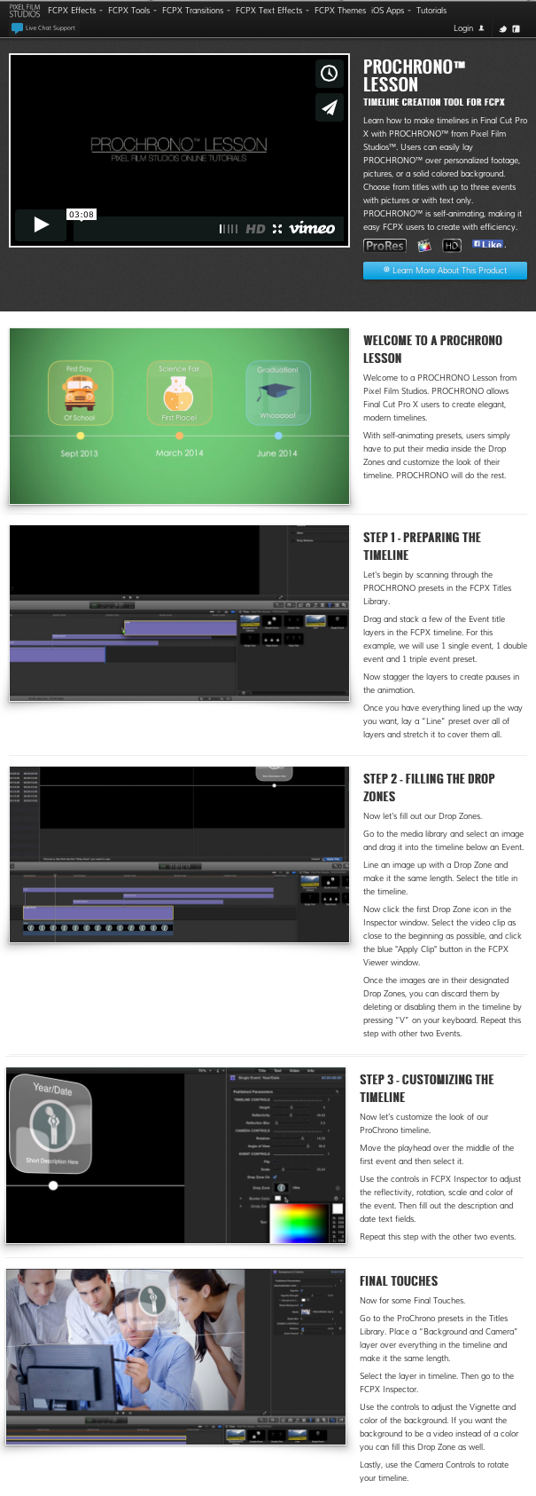 how to put outcue on final cut pro