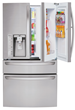 LG 4 Door Refrigerator with Door-in-Door® and  CustomChill™ Drawer