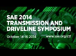 SAE International Launches Ride-and-Drive at Co-located Symposia in...