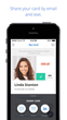 FlipCard from FlipCard Inc. Lets Professionals Easily and Quickly Exchange Virtual Business Cards with their LinkedIn Connections Via Email, Text or the App's Cloud-Based