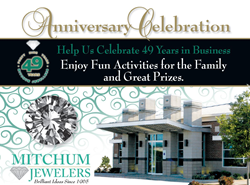 Mitchum Jewelers Anniversary