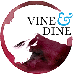 Official Logo of Vine & Dine
