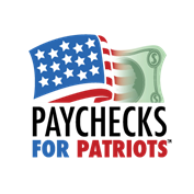 Paychecks for Patriots Logo