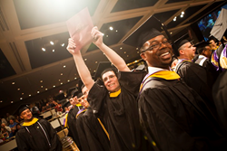 Photo from 2013 Excelsior College Commencement. (Photography by Kris Qua)