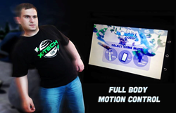 Snowball Effect Motion Control by X-Tech Games powered by Extreme Reality