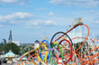 Scenes from Biggest Fun Fair on the Rhine