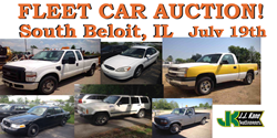Used Fleet Vehicle Auction South Beloit, IL
