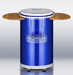 Summit PCC50BLUE Portable Beverage Cooler