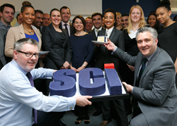 SCi staff are given a slice of the company as shareholders
