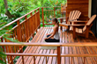 The Nosara Yoga Village offers sacred spaces for meditation and relaxation