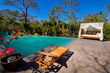 Relax poolside at Nosara Yoga Village, Costa Rica