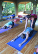 Yoga classes offered daily