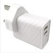 2-Ports AC USB Power Adapter