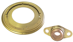 Triangle Manufacturing, the largest manufacturer of lazy susan turntable bearings in the world, works to expand their material offerings and capabilities.