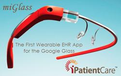 Google Glass iPatientCare