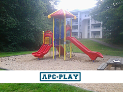 Old Buckingham Station - Commercial Playground Equipment - APCPLAY