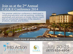 Into Action Treatment Center to Join Exhibitors at C.O.R.E. Conference