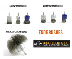 BRM Wire End Brushes - Made in the USA