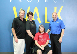 Spinal Cord Injury, Project Walk, Project Walk Houston