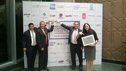 UTi India managers point out UTi's placement in Top 50 Best Places to Work.