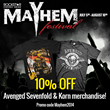 Mayhem Festival Promotion
