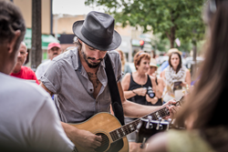 National recording artist Cory Chisel will bring a weekend of original Americana music back to his hometown of Appleton next month as the Mile of Music festival returns. (Photo by Graham Washatka)
