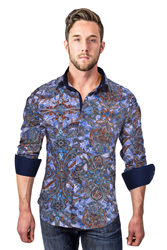 A beautiful men's designer shirt.