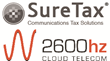 2600hz and SureTax® Partner, Adding Tax Calculation Services to...