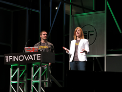 P2Binvestor cofounder and COO Krista Morgan with CTO Clay McIlrath