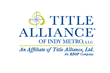 Title Alliance Announces Sales Director for Title Alliance of Indy Metro, LLC in Greenwood, IN