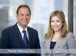 NJ mesothelioma lawyers Leah Kagan & Moshe Maimon
