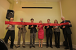 Ribbon cutting ceremony featuring Univera executives