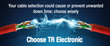 Are You Using The Right Cable? TR Electronic Can Guide You to a Cable...
