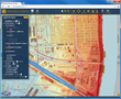 Map Analyst incorporates geographic information systems (GIS)