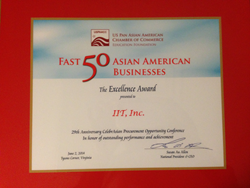 IIT receives Fast-50 award from Uspaacc / Ernt & Young