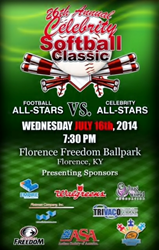 FREE Passes to the 26th Annual Celebrity Softball Classic - Flottman Company