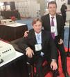 CEO Bradley Cole with Professor Mike Jordan MD