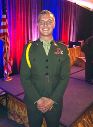 Blake DeWeese of Beaverton, OR, has been named 'National Young Marine of the Year'