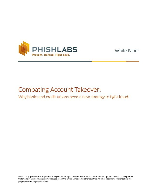 PhishLabs Launches New ATO|Prevent Service for Banks and