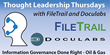 Information Governance Webinar Series with FileTrail and Doculabs