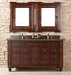 "Castilian 60"" Double Bathroom Vanity 160-V60D-ACG From James Martin Furniture"